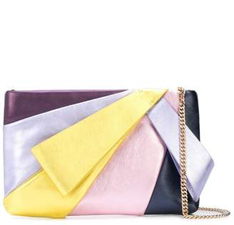 Kate Spade Stevie color-block clutch