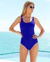 Calvin Klein Starburst One-Piece Swimsuit