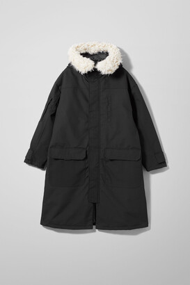 Weekday Martha Parka - Black