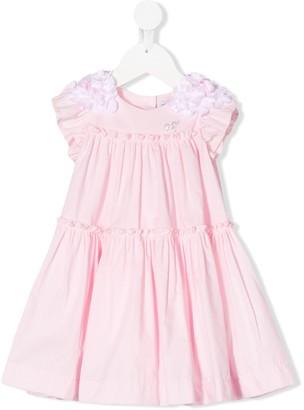 MonnaLisa Tiered Pleated Dress