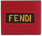 Fendi Smooth Leather Wallet W/ Logo Patches