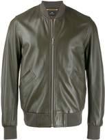 PS Paul Smith textured bomber jacket