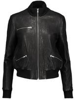 A.L.C. Jordyn Textured-Leather Jacket