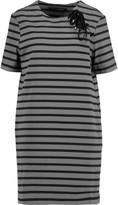 Marc by Marc Jacobs Jacquelyn striped cotton mini dress