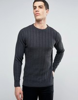 Tokyo Laundry Lightweight Cotton Cable Sweater