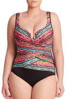 Miraclesuit Swim, Plus Size One-Piece Escape Printed Swimsuit