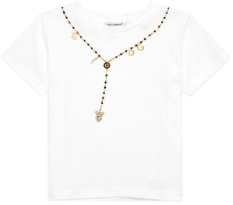 Dolce & Gabbana Kids Embellished T-Shirt (2-6 Years)