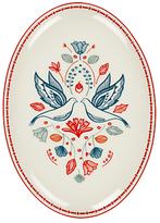 John Lewis Folklore Oval Platter, Dia.30.5cm