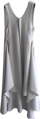 Celine Beige Wool Dresses
