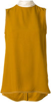 Marni neck tie collar blouse - women - Acetate/Viscose - 40
