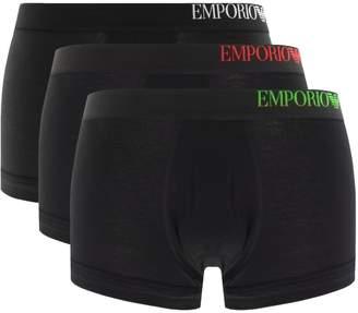 Giorgio Armani Emporio Underwear 3 Pack Boxers