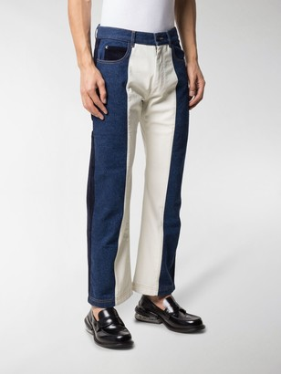Gr Uniforma Panelled Wide-Leg Jeans