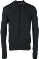 Dolce & Gabbana knitted bomber jacket - men - Virgin Wool - 46
