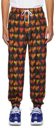 Versace Black Bandana Track Pants