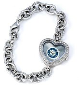 Game Time MLB Women's MH-SEA Heart Collection Seattle Mariners Watch