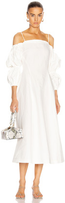 REJINA PYO Lorna Dress in Off-White | FWRD