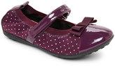 Geox Toddler Girls) Purple J Piuma Ballet Flats