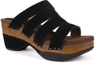 White Mountain Montana Strappy Platform Sandals Women Shoes