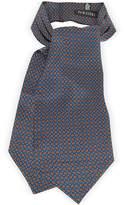 Forzieri Paisley Print Silk Tie Ascot