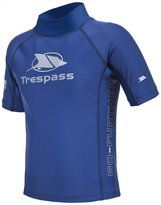 Trespass Childrens/Kids Alva Short Sleeve Rash Guard Swimming Top