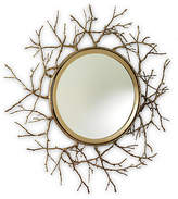 "Global Views Twig 44"" Wall Mirror - Brass"