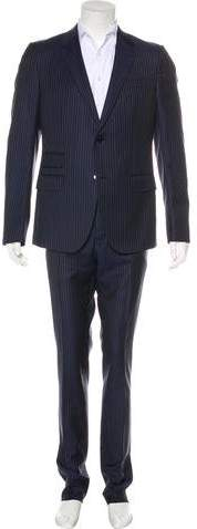 Gucci Striped Wool Suit w/ Tags