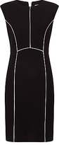 John Lewis Blair Ponte Dress, Black