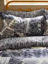 Clarissa Hulse Indigo patchwork oxford pillowcase