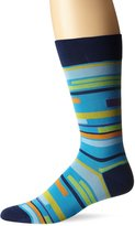 Bugatchi Men's Tetris Mens Fancy Sock