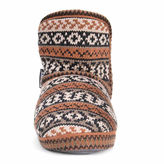 Muk Luks Women's Short Knit Patterned Bootie