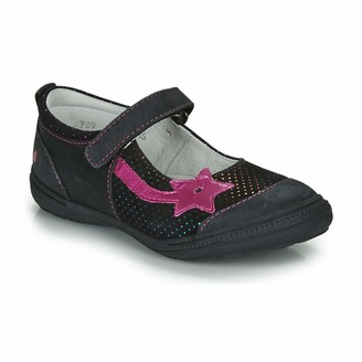 GBB NYOKO Flat Shoes Girls Black/Pink - 12.5 UK Child - Flat Shoes