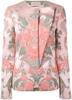 Christopher Kane jacquard velcro jacket