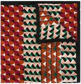 RED Valentino geometric print scarf