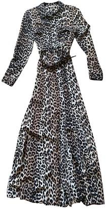 Ganni Beige Silk Dresses