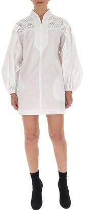Philosophy di Lorenzo Serafini Perforated Detail Shirt Dress