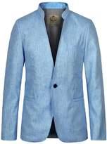 E-artist Men's Slim Fit Casual Stand Blazer Jacket X05 XXXXX-Large