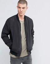 Selected Nylon Padded Bomber