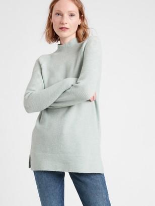 Banana Republic Mock-Neck Sweater Tunic