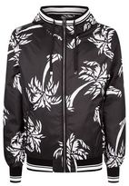 Dolce & Gabbana Palm Print Bomber Jacket