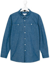 Burberry chambray shirt - kids - Cotton - 14 yrs