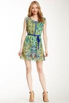 Angie Tie Waist Floral Dress