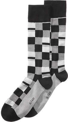 Alfani Men Mosaic Boxes Dress Socks