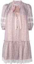 Marc Jacobs floral print dress - women - Silk/Cotton - 2