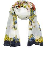 Dolce & Gabbana Floral-Print Silk Headscarf