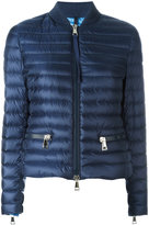 Moncler padded bomber jacket - women - Feather Down/Polyamide/Polyester - 0