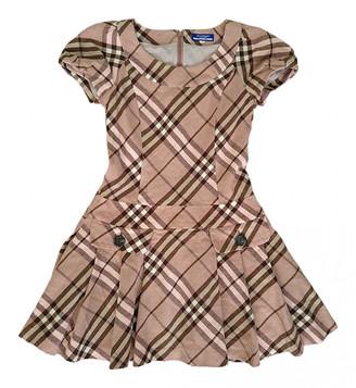 Burberry Pink Wool Dresses