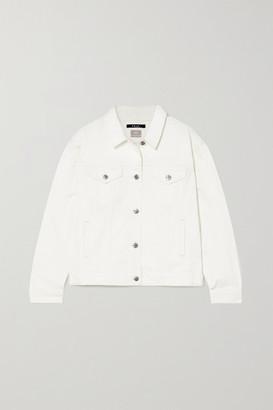 Ksubi Oversized Denim Jacket - White
