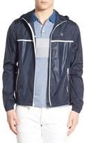 Original Penguin 'Court Ratner' Packable Zip Hooded Jacket