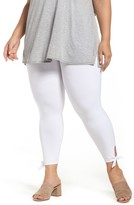 Lysse Plus Size Women's Tie Crop Leggings