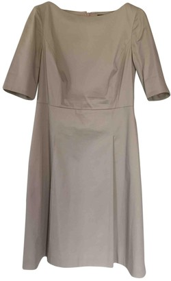 Brooks Brothers Beige Cotton Dress for Women